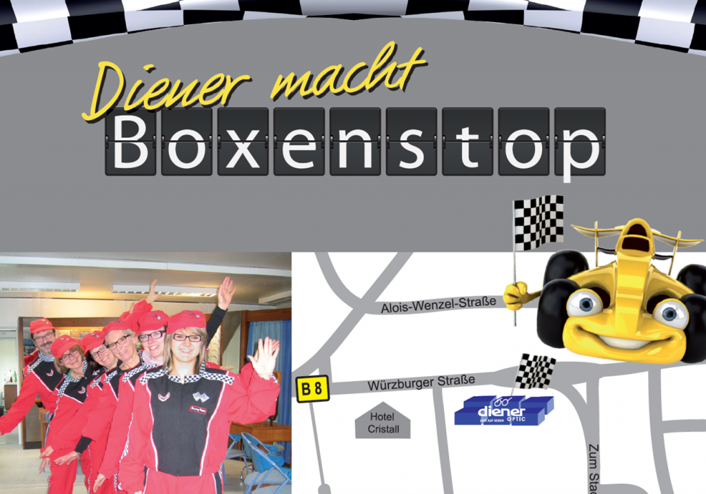 Marketingidee-Boxenstop