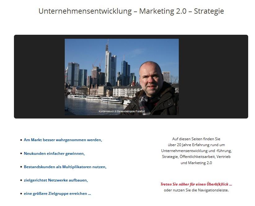 Storytelling-Webseite-Blog