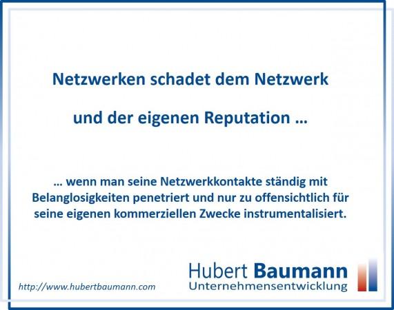 Netzwerken-schadet